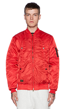 10 Deep X-2 Aviator Jacket in Red