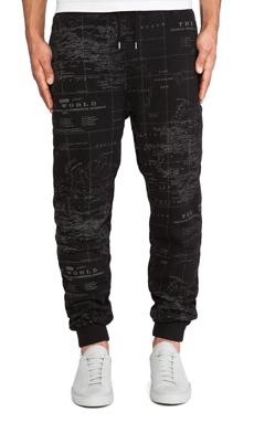 10 Deep Worldwide Sweatpant in Black