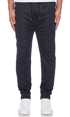 10 Deep Mesh Tech Sweatpant in Navy