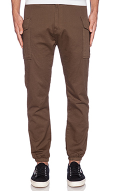 10 Deep High Siler Banded Pant in Olive Drab