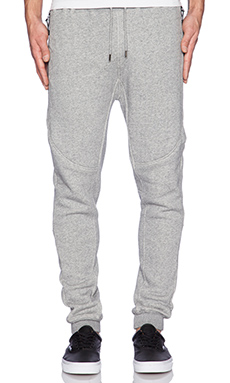 10 Deep VCTRY Sport Fleece Pant in Grey Marl