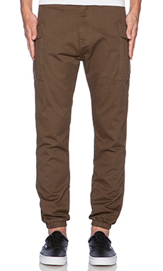 10 Deep High Siler Pant in Army