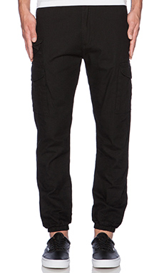 10 Deep Siler Cargo Pant in Black
