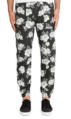 10 Deep Siler Pant in Hibiscus