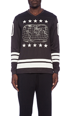 10 Deep Atlas Hockey Jersey in Black