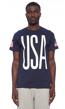 10 Deep USA '84 Tee in Navy