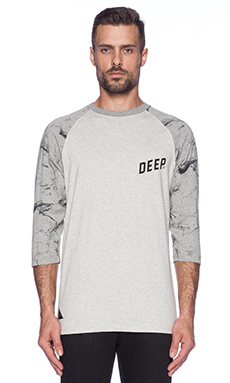 10 Deep Marble Slope 3/4 Sleeve Tee