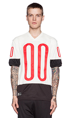 10 Deep Tech Mesh World League Jersey in Off White