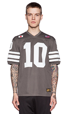 10 Deep X-League Jersey in Graphite