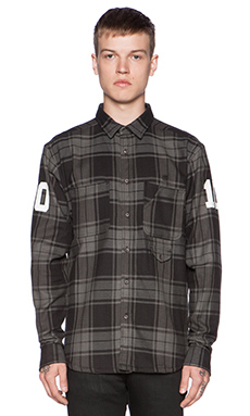 10 Deep Big 10 Button Down in Black