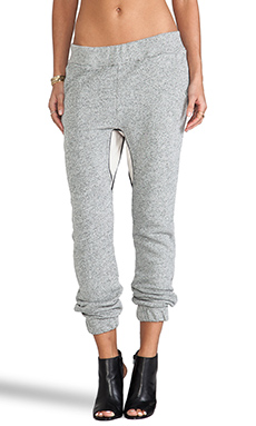 19 4t Drop Crotch Pant with Panel in Charcoal