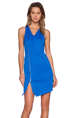 1. STATE V-Neck Bodycon Dress in Azure Sky