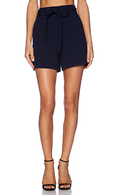 1. STATE Tie Waist Short in Navy Stone Cloud