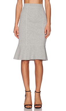 1. STATE Fish Tail Pencil Skirt in Cloud