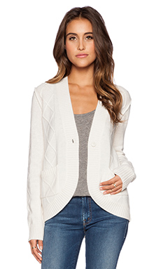 27 miles malibu Madeline Cardigan in Cloud