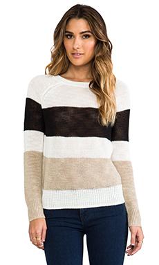360 Sweater Nova Stripe Sweater in Multi