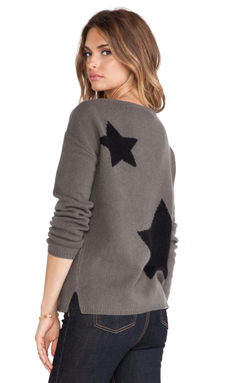 360 Sweater Sky Sweater in Army & Black