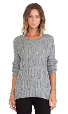 360 Sweater Salem Sweater in Heather Grey