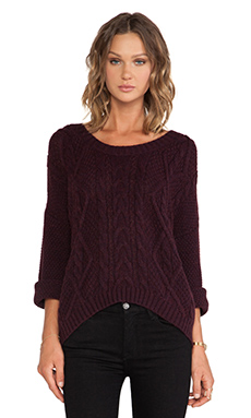 360 Sweater Tao Sweater in Pinot