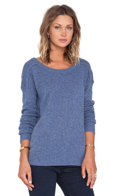 360 Sweater Kylie Sweater in Denim