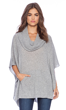 360 Sweater Laurel Sweater in Heather Grey