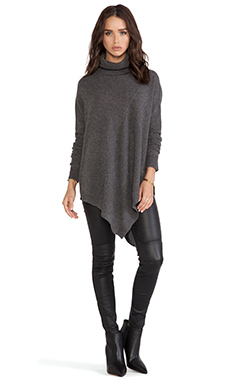 360 Sweater Karla Sweater in Charcoal