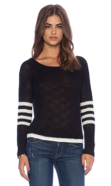 360 Sweater Dylan Sweater in Black & White