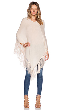 360 Sweater Blanca Poncho in Au Natrel