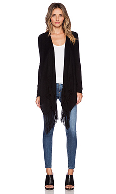 360 Sweater Dominique Cardigan in Black