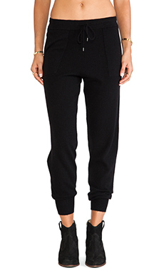 360 Sweater Pantalone in Black