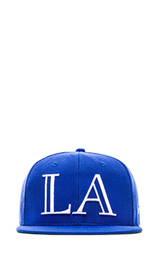 40 OZ NY LA Hat in Azure