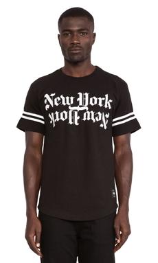 40 OZ NY New York Tee in Black