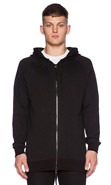 424 Hooded Sweatshirt in Black