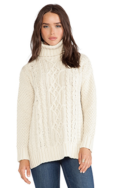 525 america Blake Turtleneck in Tusk