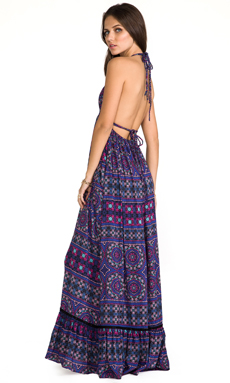 6 SHORE ROAD Williwood Maxi Dress in Soca