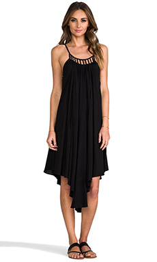 6 SHORE ROAD x REVOLVE Porto Marie Dress in Black Rock
