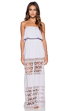 6 SHORE ROAD Charlotte Maxi Dress in Lilac
