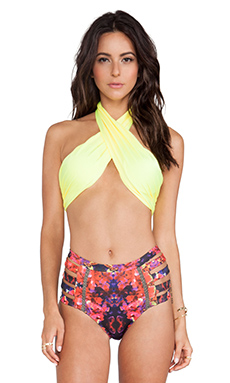 6 SHORE ROAD Bocas Bikini Top in Surya