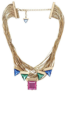 8 Other Reasons Liquid Candy Necklace in Gold & Multi