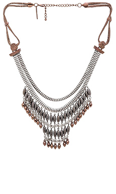 8 Other Reasons Be Brace Necklace in Silver Multi