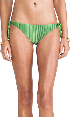 AGUADECOCO Full Bikini Bottom in Foliage