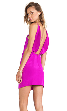 Assali Paola Dress in Fuchsia