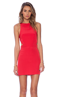 Assali x REVOLVE Rake Mini Dress in Red