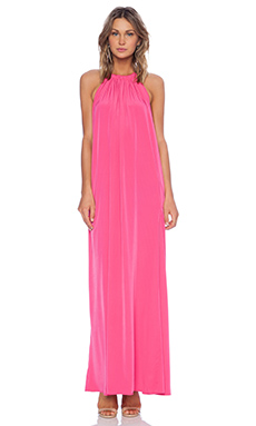 Assali Borgia Maxi Dress in Fuchsia