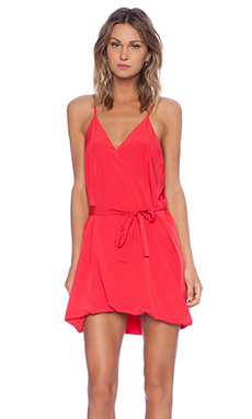 Assali Lavinia Mini Dress in Red