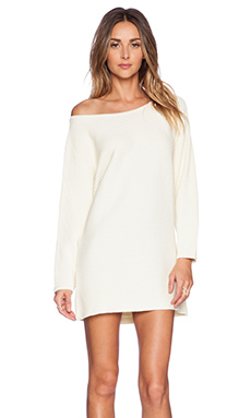 Assali Chhatri Wool Sweater Dress in Cream