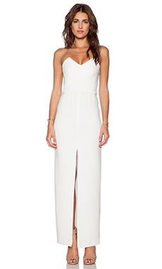 Assali The Squint Dress in White