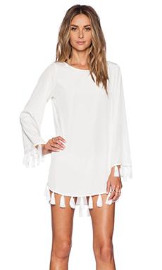 Assali Native Dress in White
