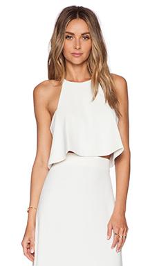 Assali Blush Top in White