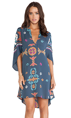 Antik Batik Lolah Kaftan in Blue